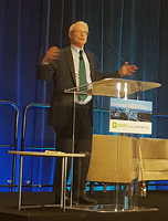 Prof. Michael E. Porter at the 2017 ICHOM Conference